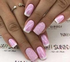 Nail art is a very popular trend these days and every woman you meet seems to have beautiful nails. It used to be that women would just go get a manicure or pedicure to get their nails trimmed and shaped with just a few coats of plain nail polish. Best Nail Art Designs, Beautiful Nail Designs, Pink Nail Art, Cool Nail Art, Blue Nail, Pink Art, Nail Color Trends, Nail Colors, Neutral Colors