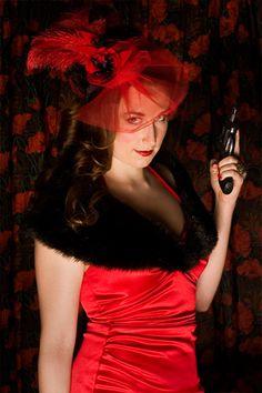 Miss Scarlet, I found my Halloween costume!