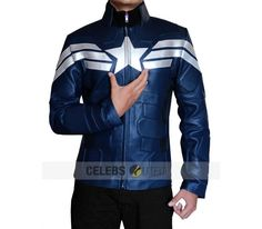 "The inspired collection of the Captain America Winter Soldier Jacket worn by Chris Evans in the movie ""Captain America: The Winter Soldier"" is now on special Christmas Sales Deal!! Get the look now!! Get free shipping worldwide!! Also avail free sunglasses on every order!! #CaptainAmerica #WinterSoldier #ChrisEvans #CyberOffer #cyberday #cyberstore #fashionstylist #Shop #Movie #fashionstore #newfashion #outfit #colourful #Clothing #MenFashion #LeatherFashion #vintageforsale #Jacket"