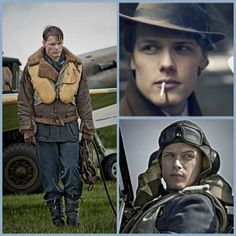 Sam Heughan in First Light role before Outlander
