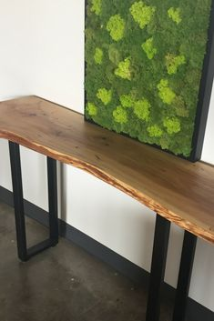 23 best live edge console table images woodworking carpentry rh pinterest com