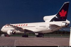 C-FTNL Air Canada Lockheed L-1011-385-1-15 TriStar 100 taken 05-1995 at Montréal - Mirabel International (YMX / CYMX) airport, Canada by Pierre Lacombe