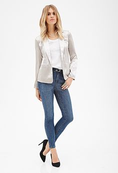 High-Rise Skinny Jeans | FOREVER21 - 2000137682