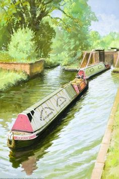 Narrow boats - The Story of Our Canals ..