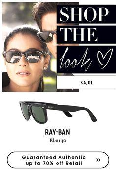 kajol-Ray-Ban- Wayfarer - Sunglasses. eyeglasses for women 2017 @eyeglasses123