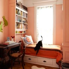 Curl up and get cozy... 25 Beautiful Nooks to Inspire. #dwellinggawker