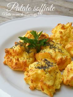 blown potatoes - in the kitchen of laura Wine Recipes, Cooking Recipes, Healthy Recipes, Recipes Dinner, Good Food, Yummy Food, Yummy Yummy, Salty Foods, Vegetable Salad