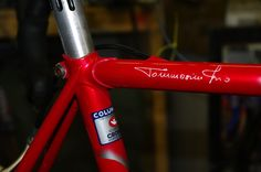 To be rebuilt, a vintage Tommasini! Wonder and weep, for it is to kill for | cycling