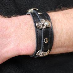 Bracelet cuir marieke creation