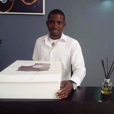 The Happy Client from Bwari today ! #WaraCake
