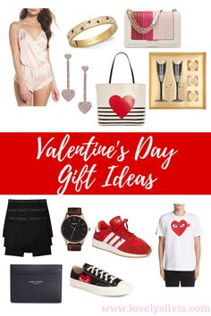 Valentine's Day Gift Ideas for Her & Him Holiday Gift Guide, Holiday Gifts, Top Gifts, Best Gifts, Valentines Day Gifts For Her, Gift Finder, Pink Gifts, Cute Earrings, Lacoste
