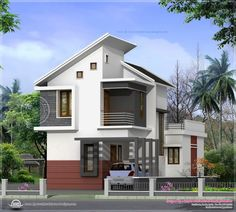 11 Best Small House Designs In Kerala Style Images On Pinterest