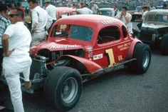 [IMG] Danny McNamara Islip All Star Modified, hey Rich is that in the back ground? Old Race Cars, Vintage Race Car, Nascar Racing, Car Photos, Custom Cars, Antique Cars, Classic Cars, Monster Trucks, Dirt Track