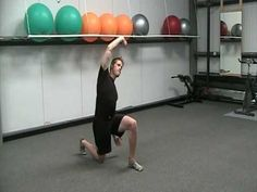 3 Way Hip Flexor Stretch -