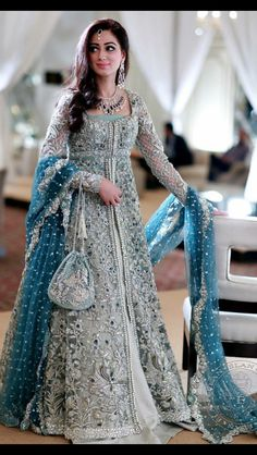 New Pakistani bridal dresses Collection in this post our celebrity dress design team is going to show you some latest and most beloved Pakistani bridal dresses bridal dr… Indian Bridal Lehenga, Indian Bridal Fashion, Pakistani Wedding Dresses, Indian Gowns, Pakistani Gowns, Latest Wedding Dresses Indian, Bridal Anarkali Suits, Latest Pakistani Fashion, Lehenga Wedding