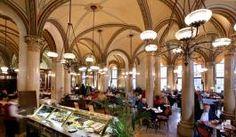 Café Zentral, Vienna     -  inside