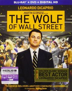 The Wolf of Wall Street (Blu-ray + DVD + Digital HD) #movies