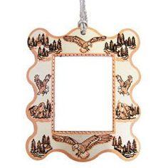 Eagle Photo Frame Ornament