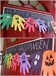 31 Fun and Easy Halloween Crafts for Kids Déco Halloween More The post 31 Fun and Easy Halloween Crafts for Kids appeared first on Halloween Espana. Theme Halloween, Halloween Arts And Crafts, Halloween Crafts For Toddlers, Halloween Crafts For Kids, Halloween Activities, Halloween Projects, Holidays Halloween, Holiday Crafts, Halloween Classroom Decorations