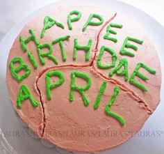 Harry Potter Birthday Themed Cake