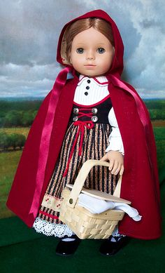 A beautiful interpretation of a little European Little Red Riding Hood! By Sugarloaf (2006)