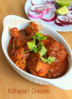 Indian Food and more...: Kolhapuri Chicken|Spicy Kolhapuri Chicken Curry|Indian Chicken Recipes