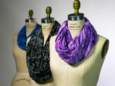 The crafting experts at DIY Network has easy instructions on how to make an scarf without an end.