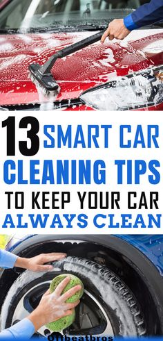 Easy car cleaning tips to keep you car clean the smart way. From car upholstery cleaning to cleaning car tires, these car cleaning hacks cover deep cleaning every part of the car. In short, these car cleaning tips, trick, and hacks are awesome. Cleaning Car Upholstery, Cleaning Blinds, Car Cleaning Hacks, Deep Cleaning Tips, Car Hacks, House Cleaning Tips, Auto Upholstery, Hacks Diy, Tips And Tricks