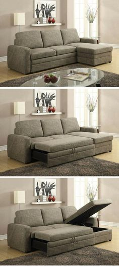 67ecc949bc7 Check out the Derwyn Sleeper Storage Sectional Sofa @istandarddesign  #sectionalsofas Τραπεζαρία, Υπνοδωμάτια,