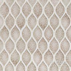 Encore Ceramics | Wave mosaic hand-glazed in Martini jewel | Sustainably made in Oregon