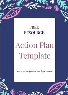 We all need a little help when it comes to crushing our goals. This FREE Action Plan template will help you track and implement your daily goals