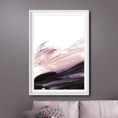 Printable Abstract Art, Purple Wall Art, instant download art, Pink Wall Art, Large Abstract Art, Dan Hobday, 24x36 Print, living room art by DanHobdayArt on Etsy Purple Wall Art, Purple Walls, Living Room Art, Abstract Wall Art, Modern Wall Art, Tapestry, Printables, Contemporary, Artwork