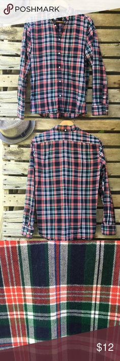 New Men's H&M Plaid Buttom Down Never Worn  -Regular Fit H&M Long Sleeve H&M Shirts Casual Button Down Shirts