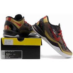 http://www.asneakers4u.com/ Nike Kobe 8 System Basketball Shoe Snake Gold Sale Price: $69.40