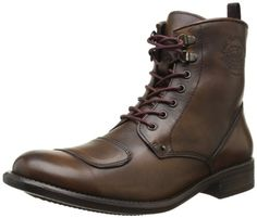 Base-London-Chassis-The-Moto-Boot-Boots-homme-Marron-ChassisAntique-Brown-45-EU-0
