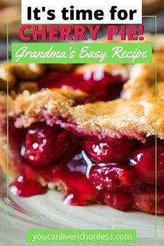 The Best Homemade Cherry Pie Cherry Hand Pies, Homemade Cherry Pies, Easy No Bake Desserts, Delicious Desserts, Dessert Recipes, Strawberry Swirl Cheesecake, Cheesecake Strawberries, Strawberry Sauce, Strawberry Desserts