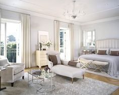 10 Quick Tips to Get a Wow Factor when Decorating with All-White Color -…