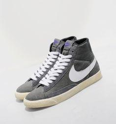 Nike Blazer Hi Vintage Canvas #nike #blazer