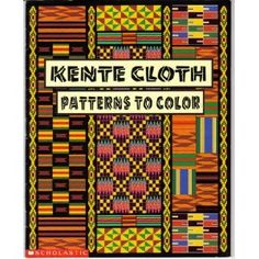 These are great kente cloth coloring pages!