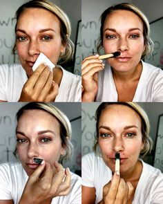 patchy foundation upper lip