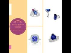 You imagine. We design. Check out Linara's Tanzanite Collections.