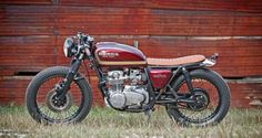 1977 HONDA CB550 Cafe Brat by SMYTH INNOVATIONS #motorcycles #motos | caferacerpasion.com