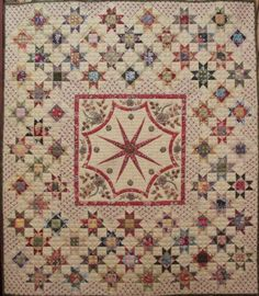 Star Quilts, Scrappy Quilts, Mini Quilts, Quilt Blocks, Crib Quilts, Antique Quilts, Vintage Quilts, Petra Prins, Vintage Compass