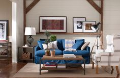 Ahhhhh, #denim #slipcover. It's like comfy clothes for your sofa.