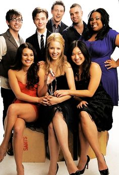 Glee- I can't even pretend that I don't love everything about this show.... oh cory =[[
