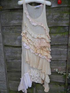 Authentic RitaNotiara W/ Magnolia Bow Vintage Lace by RitaNoTiara