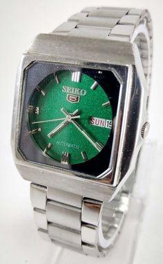 Vintage Seiko 5 Automatic 23j Movement No.6349A Japan Made Men's Watch..  | eBay