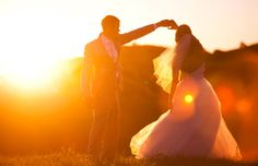 Stunning wedding photo - captured by Sunlit Studios.