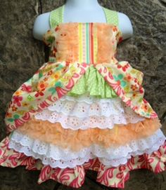 Sherbert GardenGorgeous Whimsical and Retro all in by Twirlicious, $72.00