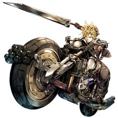 Images of the beautiful boys of the Final Fantasy and Kingdom Hearts series. Final Fantasy Series, Final Fantasy Collection, Final Fantasy Cloud, Final Fantasy Artwork, Final Fantasy Characters, Final Fantasy Vii Remake, Cloud And Tifa, Cloud Strife, Tetsuya Nomura